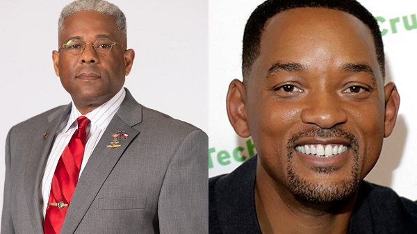 Photos of Allen West and Will Smith